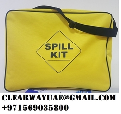 OIL/CHEMICAL SPILL KIT BAG IN MUSAFFAH , ABUDHABI , UAE  from CLEAR WAY BUILDING MATERIALS TRADING