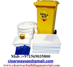 OIL/CHEMICAL SPILL KITS BIN IN MUSAFFAH , ABUDHABI , UAE  from CLEAR WAY BUILDING MATERIALS TRADING