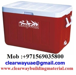 COSMOPLAST ICE BOXES IN MUSAFFAH , ABUDHABI , UAE from CLEAR WAY BUILDING MATERIALS TRADING