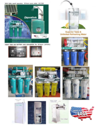 Water  Purifications systems Aqualink Brand USA. from AQUALINK DESALINATION EQUIPT, TR.