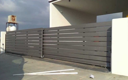 AUTOMATIC TELESCOPE GATES IN UAE from MAXWELL AUTOMATIC DOORS CO LLC