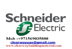 SCHNEIDER PRODUCTS DEALER IN MUSAFFAH , ABUDHABI ,UAE from CLEAR WAY BUILDING MATERIALS TRADING