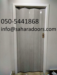 pvc folding doors in dubai from SAHARA DOORS & METALS LLC