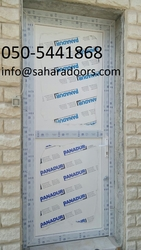 aluminium doors in uae from SAHARA DOORS & METALS LLC