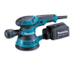 Makita Orbital Sander (Blue & Black, 260W, 125 mm) from AL FUTTAIM ACE