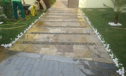 Path way from ABDULNASER AL HASHEMI LANDSCAPE GARDENING