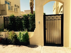 CAST FENCE AND GATE IN DUBAI from WHITE METAL CONTRACTING LLC