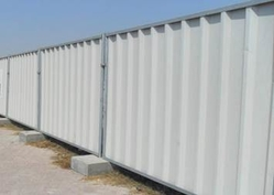 Profiled Sheet Hoarding Fence Suppliers in DUBAI from CHAMPIONS ENERGY, FENCE FENCING SUPPLIERS UAE, WWW.CHAMPIONS123.COM