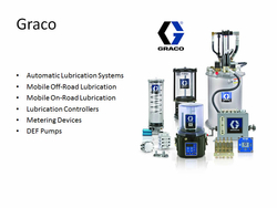 Automatic Lubrication system (Grease & oil) from MANULI FLUICONNECTO