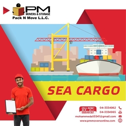 Sea cargo in uk from PM MOVERS AND PACKAGING L.L.C.