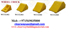 WHEEL CHOCK DEALER IN MUSSAFAH,ABUDHABI,UAE