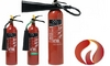 Fire extinguisher- Carbon dioxide from CITY CARE & SAFETY EQUIP.FIX.CONT. LLC