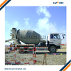 9 cubic meters concrete mixer truck used for concr ...