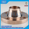 copper nickel weld neck flange