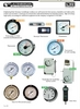 Pressure Gauges, Manometer & Thermometers