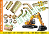 JCB crane hydraulic fittings