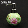 Pottery Hand Paint Floral Custom Porcelain Hand Wa ...
