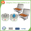 New 24 pc case 6-hour wick chafing fuel cans