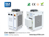 S&A chiller CW-6200 with single pump & dual temper ...