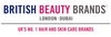 beauty products & supplies from BRITISH BEAUTY BRANDS