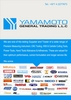 cutting abrasives from YAMAMOTO GENERAL TRADING LLC