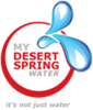 glass bottle from MY DESERT SPRING PURE WATER LLC