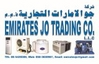 heavy equipments from EMIRATES JO TRADING CO. LLC