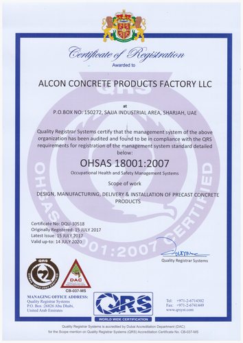 Alcon Concrete Products Factory LLC - E-Showroom on Gulf