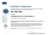 ISO 14001 : 2004 CERTIFICATION