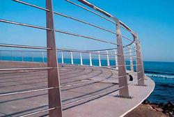 Handrails Guardrails Wire rope Railings Crash Barriers Barricades Contractors Suppliers Company in UAE, Africa, Oman, Iran, Algeria, Qatar, Bahrain, Nigeria, Kenya, Uganda
