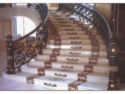 Design For Stairs From Tile Gallery Marble Tiles Trading Llc