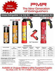 PMR SAFETY FIRE EXTINGUISHERS