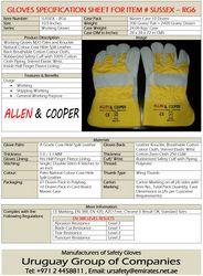 Allen Cooper Safety Gloves