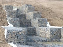 Hesco High Security Defense Blast Wall Bastions, Army Military Gabions, Military Bunker Bastions HESCO Hesco Barriers Suppliers, Contractors, Dealers, Exporters, Fabricators, Manufacturers in Dubai, UAE, Middle East, Yemen, Jordan, Algeria, Iraq, Egypt, K