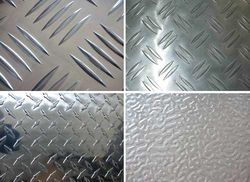 Aluminium Chequered Sheets in UAE