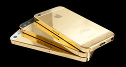 gold plating on iphone and ipad