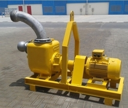 6-inch Self Priming Centrifugal Motor-Driven Pumps