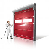 Rapid door for the food sector in uae