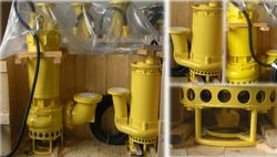 Varisco Titan Submersible agitator slurry pumps