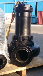 Caprari submersible sewage pumps