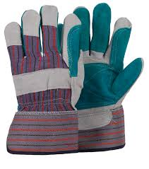 LEATHER GLOVES DOUBLE PALM GLOVES 044534894