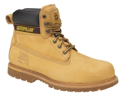 SAFETY SHOE CAT HOLTON HONEY 044534894