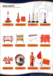 Road Safety EQUIPMENT ROAD BARRIERS 042222641