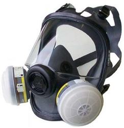 FULL FACE MASK RESPIRATOR NORTH SAFETY, USA