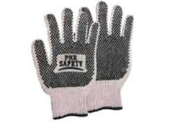 COTTON DOTTED GLOVES, PMR SAFETY