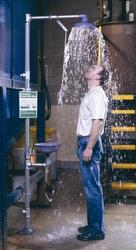 EMERGENCY SAFETY SHOWER WITH EYE BATH/ FACE WASH