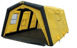AIR INFLATABLE EMERGENCY SHELTER (PORTABLE)