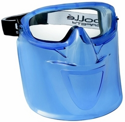 SAFETY GOGGLE WITH VISOR  BOLLE SAFETY, USA