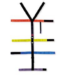 T- straps for Spine Board immobilization