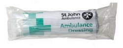 no.1 ambulance first aid dressing, 10 x 12.5cm